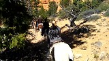 Red Canyon te paard!