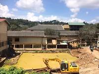 Ziekenhuis in opbouw