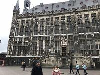 het stadhuis van Aachen