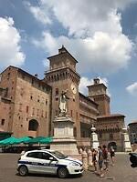 Het centrum van Ferrara
