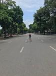 Straat in Hanoi