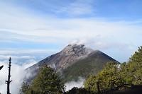 Actieve vulkaan Fuego
