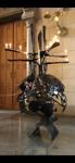 kunstwerk aardbol in Domkerk.