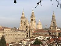 Kathedraal Santiago de Compostela.