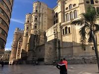 Kathedraal van Malaga.