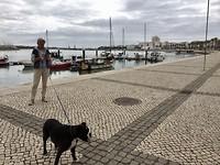 Aan de waterkant in Portimão