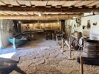 Schuur in openluchtmuseum.