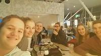 Wachten op Schiphol