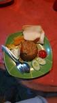 Eten op de heuvel van Bandung