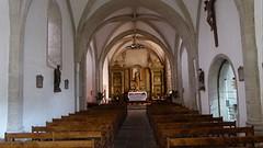 Kerk Flavignac binnen.