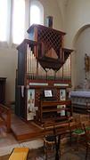 Orgel kerk Mussidan.