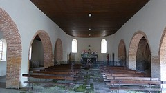 Kerk Saint-Christau van binnen.