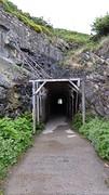 Tunneltje vóór Ontón,