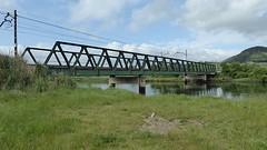 Spoorbrug tussen Bóo en Mogro.