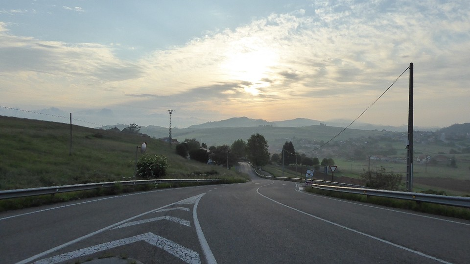 S'morgens in Caborredondo.