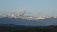 Picos de Europa ca. 2800meter hoog met nog wat sneeuw.