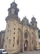 Catedral de Santa Maria in Mondoñedo.