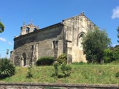 Romaanse kerk Baamonde.