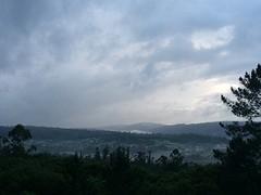 Net buiten Negreira vanmorgen.