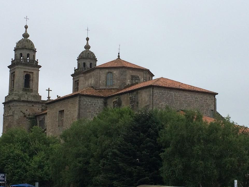 Convento de San Fransisco in Santiago.
