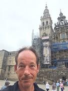 Selfie bij de kathedraal.