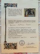 Mijn 2e Compostela, voor de Camino Ingles.