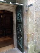 De heilige Oostpoort kathedraal Santiago, dit jaar open.