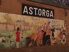 In Astorga.