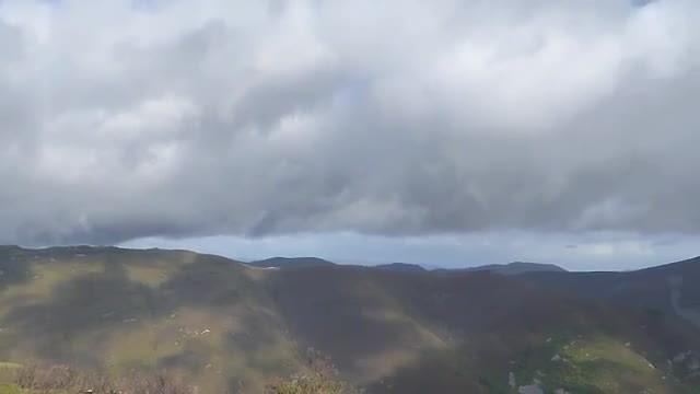 nabij hoogste punt 1200meter.
