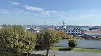 Grote marinebasis in Ferrol.