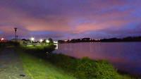 Vanmorgen in Neda, de rio Ferrol.