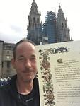 Met kathedraal en Compostela Inglés.