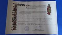 Km-certificaat Salvador+Primitivo.