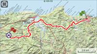 Etappe 3: Comillas - Serdio 20km.