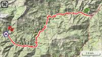 Etappe 7: Potes - Espinama 21km. 1060 meter geklommen.