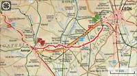 Etappe 14: Oncina - Astorga 43km.