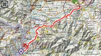 Etappe 17: Ponferrada - Puente de Domingo Flórez 30km.