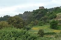 Resten fort nabij Quiroga.