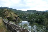 Rio Sil nabij Quiroga.