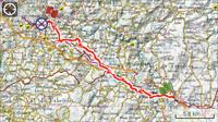 Etappe 24: A Laxe - A Ponte Ulla 32km.