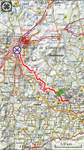 Etappe 25: A Ponte Ulla - Santiago de Compostela 23km.