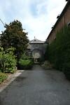 De poort naar voordeur abdij Leffe