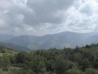 Iets hoger geklommen vandaag en mooie panoramaweg gevolgd