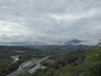 Uitzicht richting Aulla