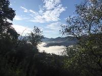 Mooi uitzicht bij Aulla