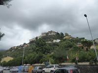 Heuvel onderweg