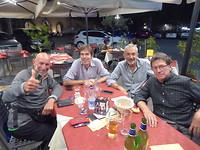 Aldo, Didier, Bruno en Michel