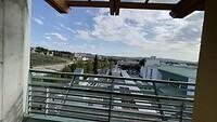 Uitzicht buitengang zienhuis.