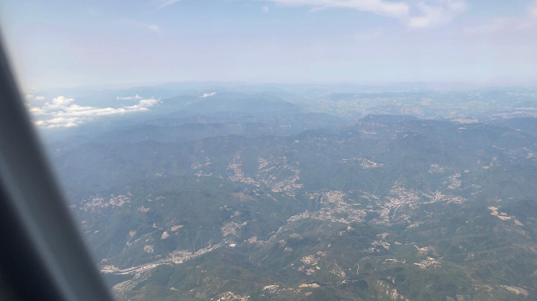 Toscane vanuit de lucht