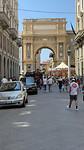 Triomfboog in Firenze